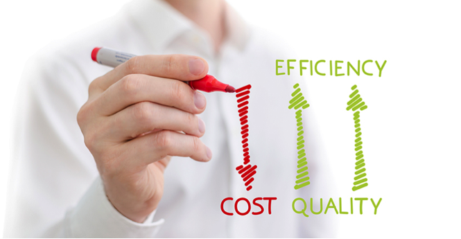 Cost vs efficiency