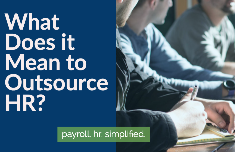 What Does it Mean to Outsource HR?