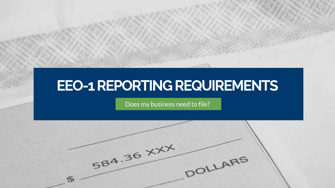 EEO-1 Reporting Requirements Finalized